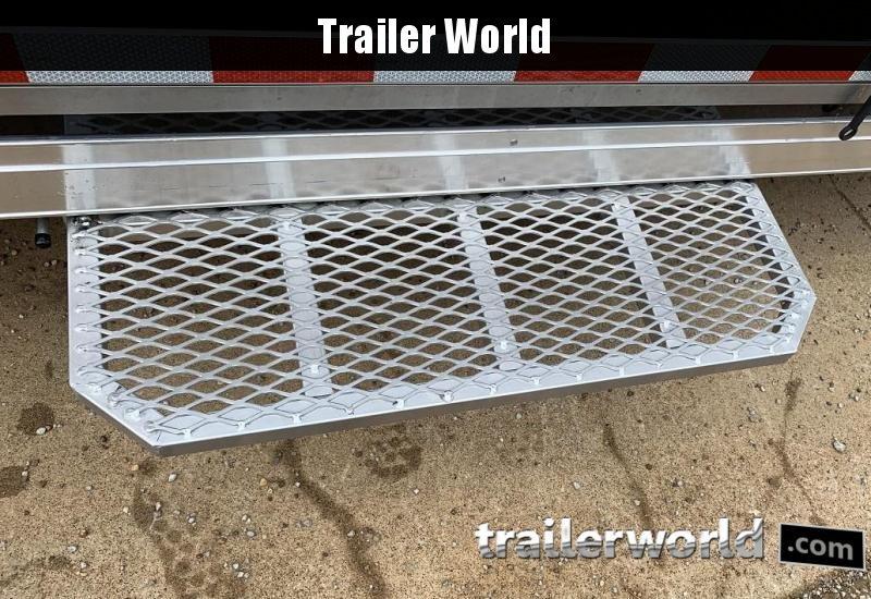 2020 Sundowner 38' Gooseneck Race Model Aluminum Car Trailer