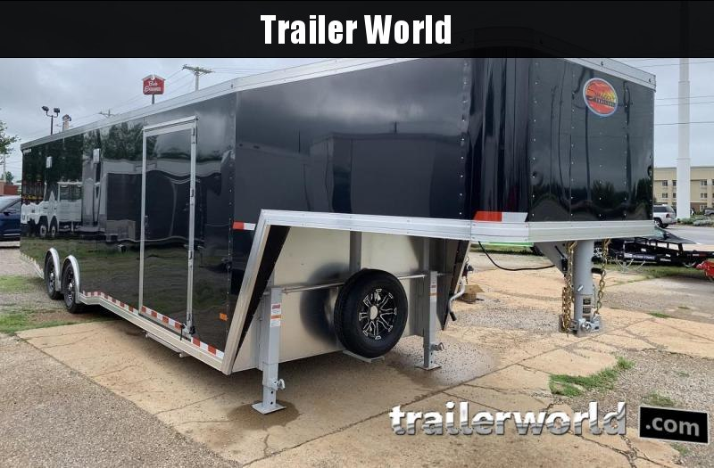 2020 Sundowner 38' Gooseneck Race Model Aluminum Car Trailer