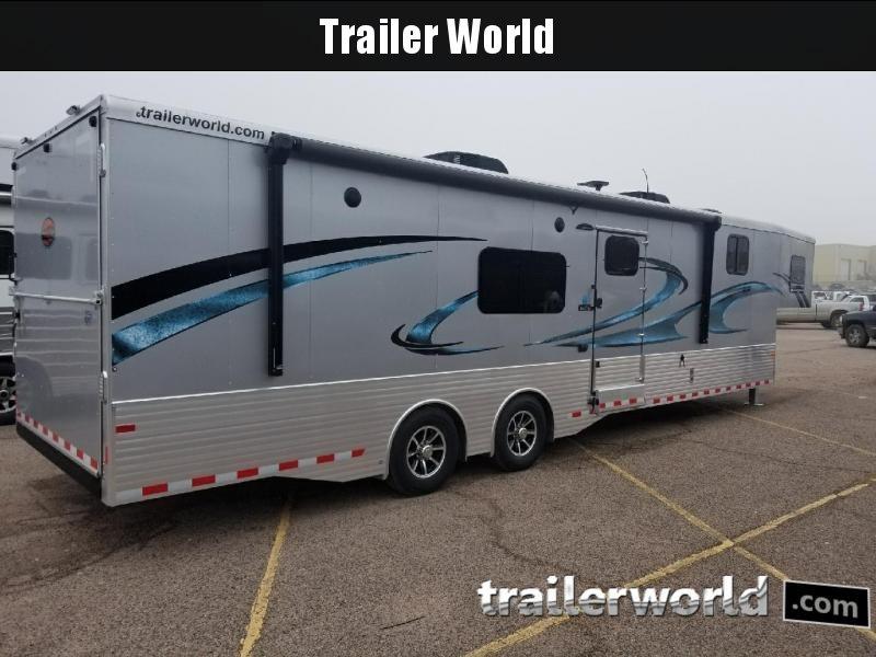 2018 Sundowner B3586OM Aluminum 37' Toy Hauler Trailer