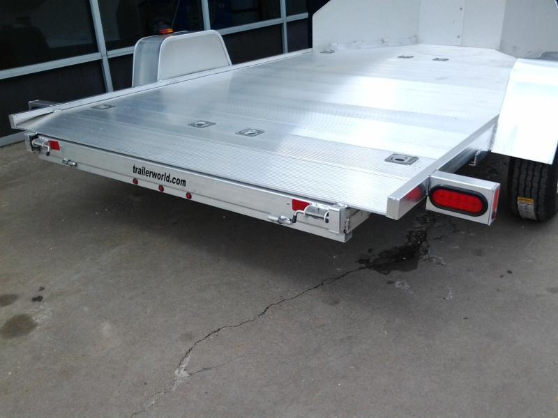 2019 Aluma MC210 Aluminum 2 Place Motorcycle Trailer