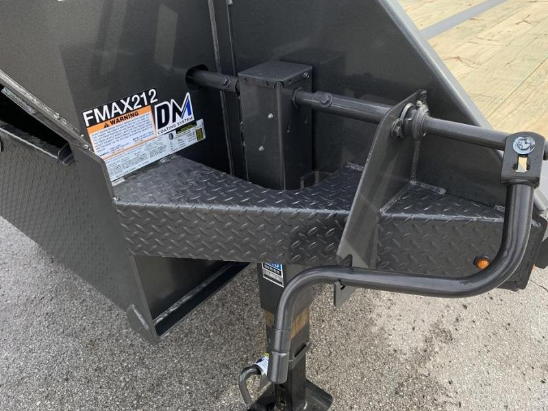 2019 Diamond C FMAX212 35' Gooseneck Flatbed Equipment Trailer 25.9k GVWR