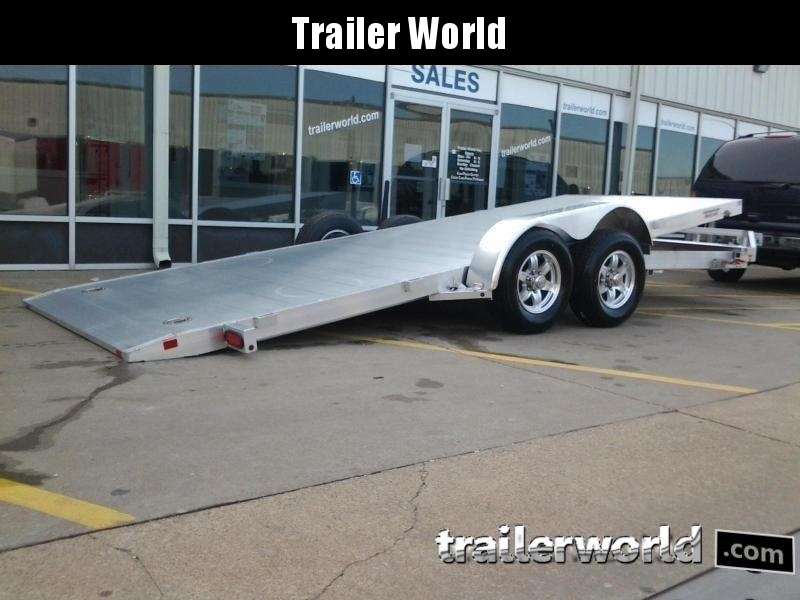 2019 Aluma 8220H Tilt Bed Aluminum Open Car Hauler Trailer 10k GVWR in Ashburn, VA