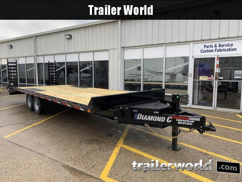 2019 Diamond C DEC 24' Deck Over Equipment Trailer