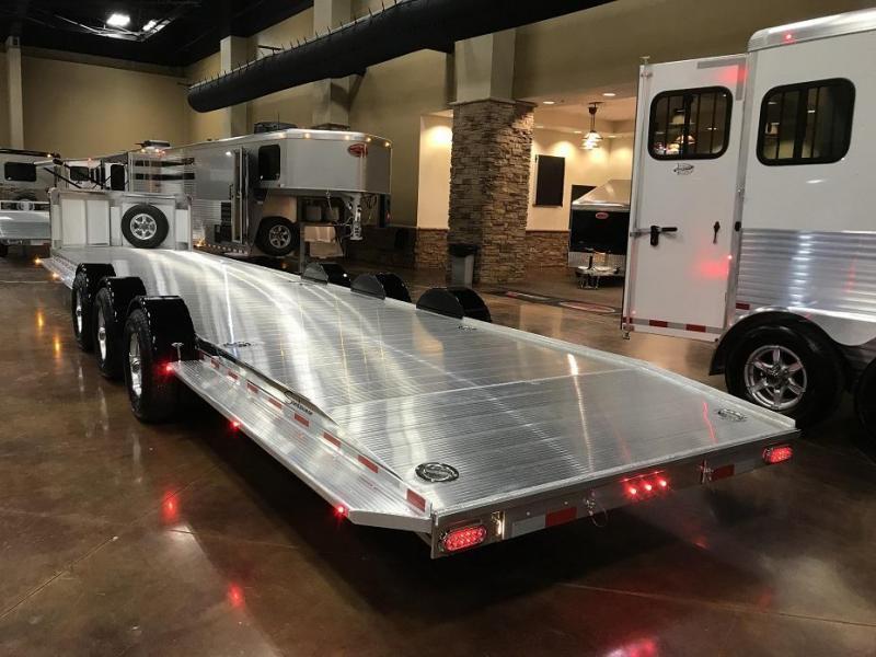 2019 Sundowner 36' Open Aluminum 2 Car Hauler Trailer
