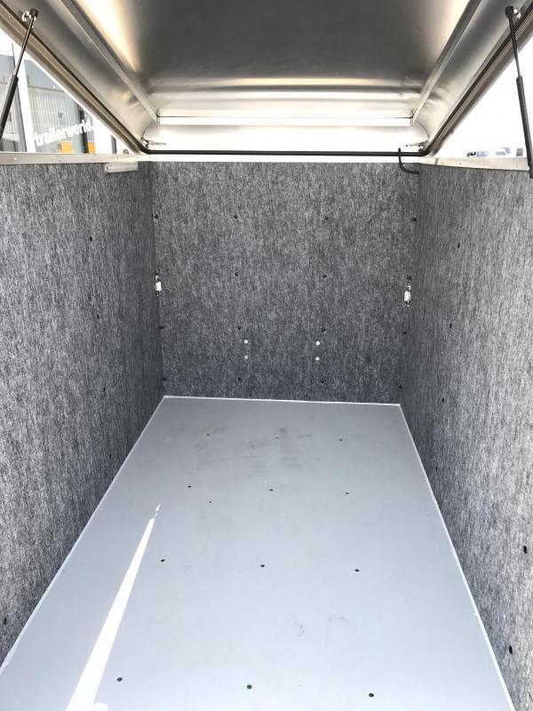 2020 Sundowner 4' x 8' MINI GO Enclosed Aluminum Cargo Trailer
