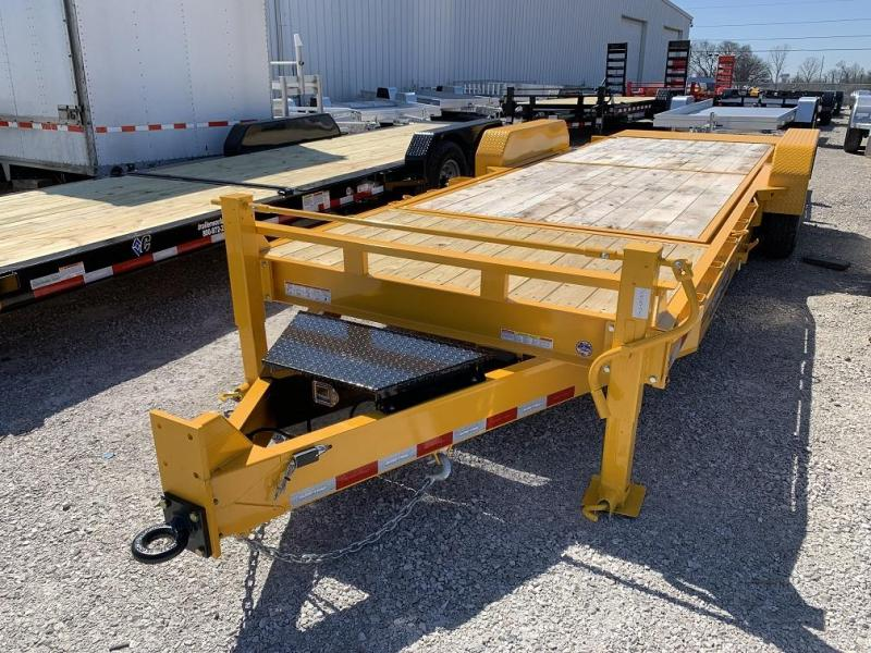 2019 Sure-Trac 18 + 4 Tilt Bed Equipment Trailer 16K