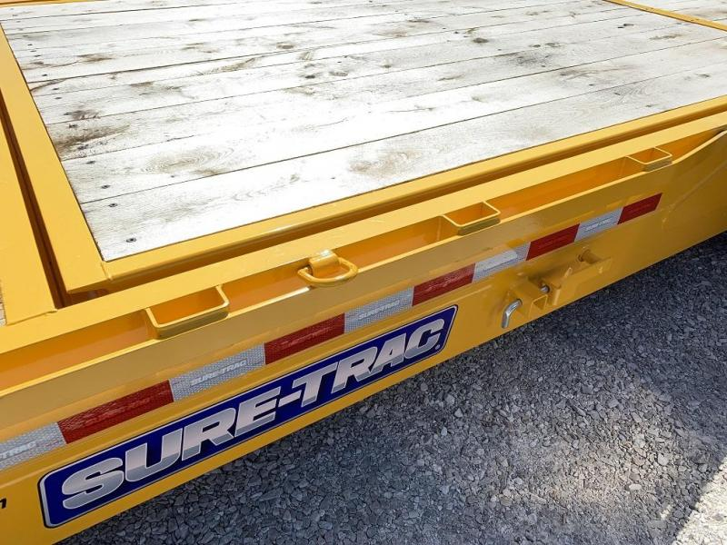 2019 Sure-Trac 18 + 4 Tilt Bed Equipment Trailer 16K
