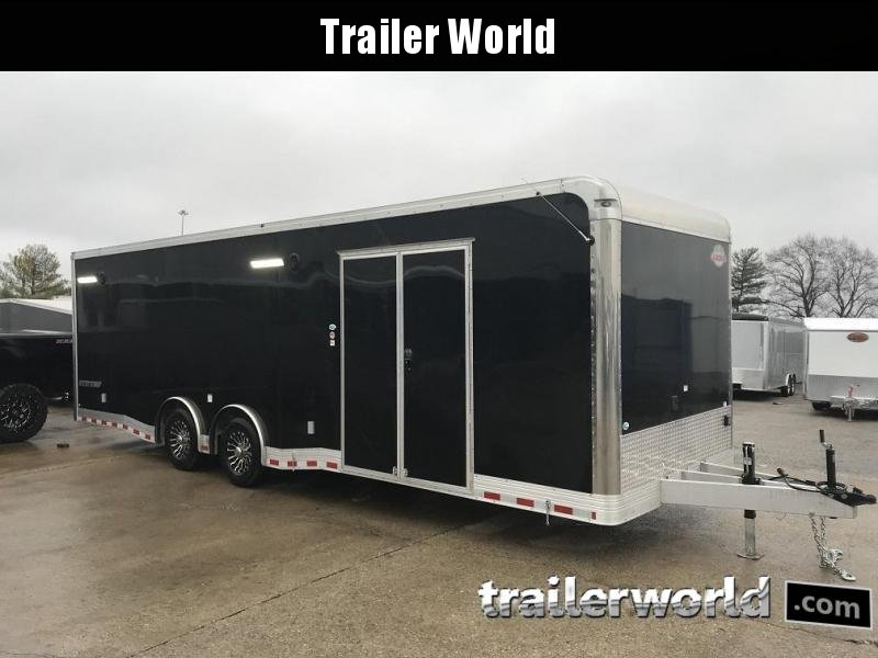 2019 Cargo Mate Eliminator Aluminum 28' Race Trailer