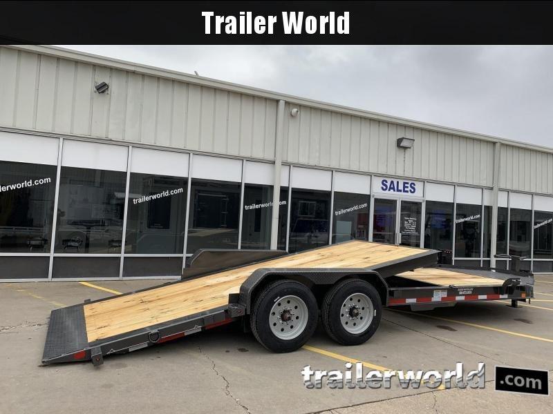 2019 Diamond C HDT 22' w/ 16' Tilt-Bed Equipment Trailer 8 Ton