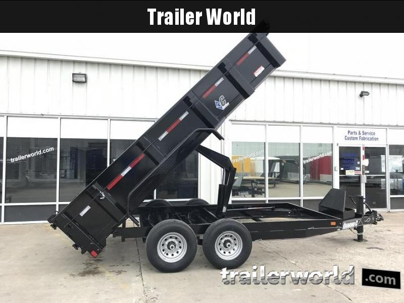 2018 Diamond C 21WD 14' Dump Trailer