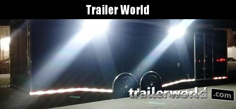 2018 CW 30' Spread Axle Racing Trailer 14k GVWR