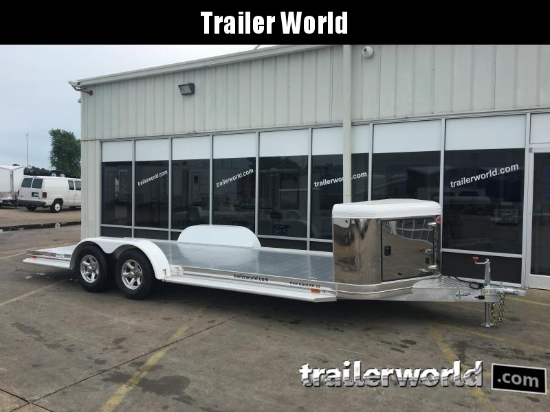 2019 Sundowner ULTRA 22'  Aluminum Open Car Hauler Trailer