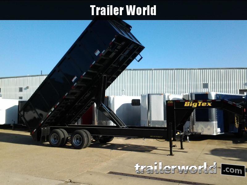 2019 Big Tex Trailers 25DU-20\' Dump Trailer 25900 GVWR | Trailer ...