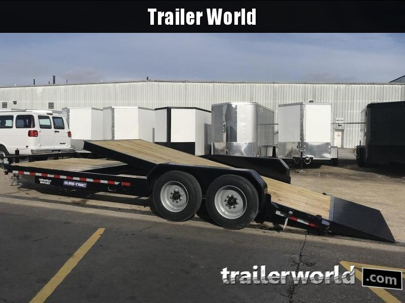 2019 Sure-Trac 22' 16' Tilt Bed + 6'  14k GVWR Trailer 17.5 Tires