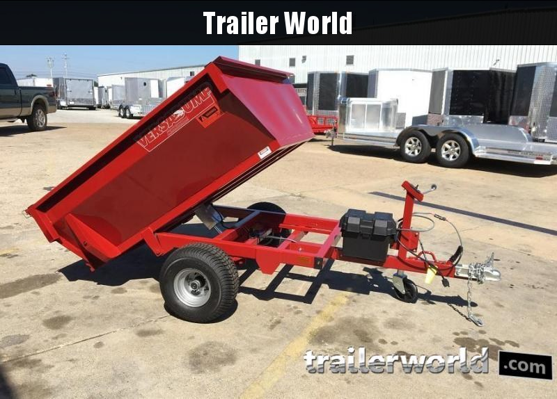 2017 Midsota Mini Dump Trailer