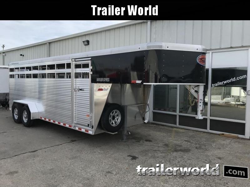2019 Sundowner Rancher Xpress 20' Livestock Trailer