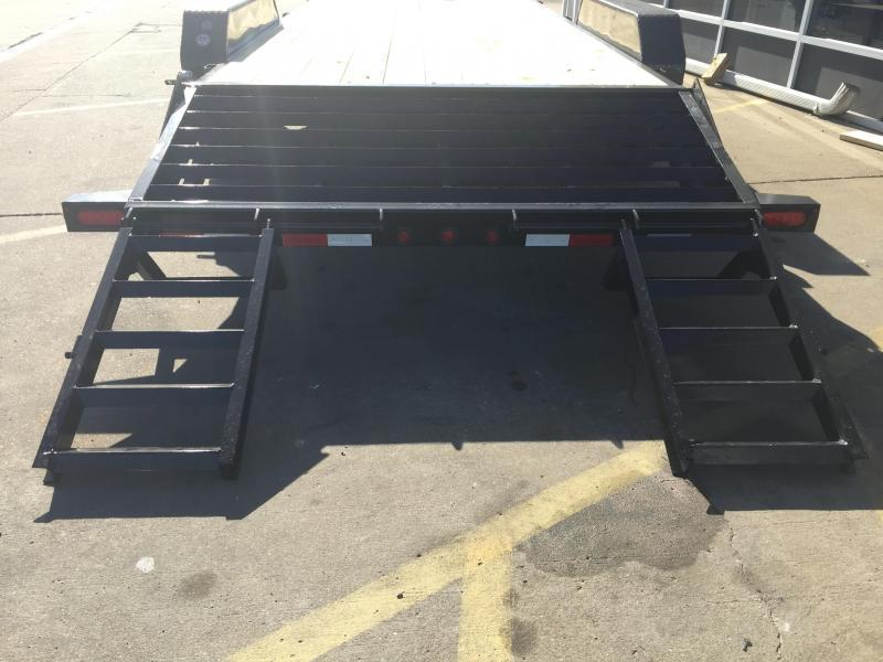 2019 Big Tex 14ET-20'  Flatbed Equipment Trailer  7 Ton