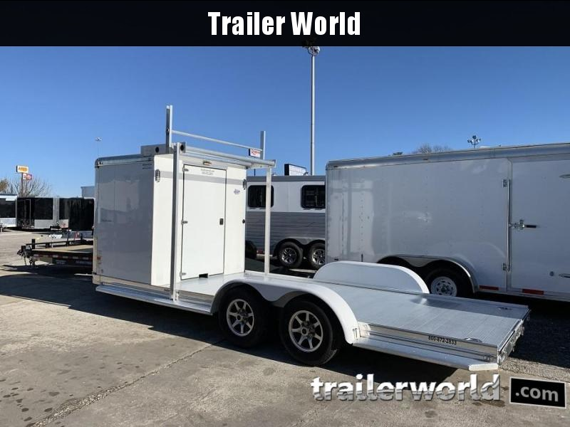 2015 Sundowner Aluminum Enclosed / Open Trailer