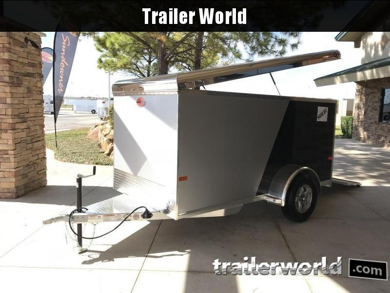 2019 Sundowner 5' x 10' MINI GO Enclosed Aluminum Cargo Trailer