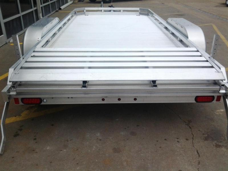 2020 Aluma 7814BT 14'  Aluminum Open Utility Trailer