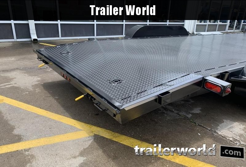 2020 B-B 20' Steel Deck Open Car Flatbed Trailer