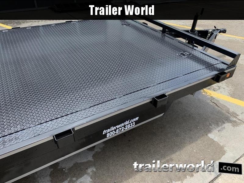 2020 B-B 20' Steel Deck Open Car Flatbed Trailer