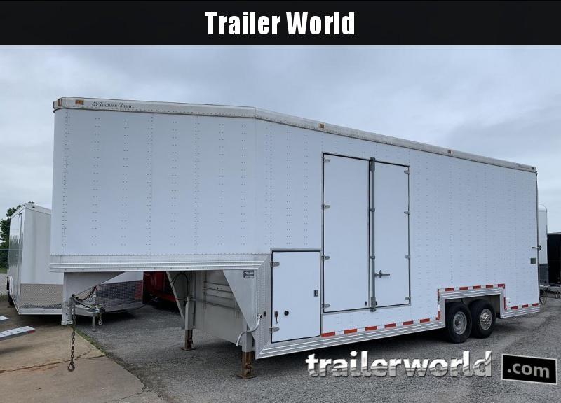 1999 Southern Classic 32' Aluminum Gooseneck Xtra Tall Enclosed Trailer in Ashburn, VA