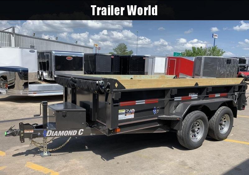2019 Diamond C EDM 77 x 12' Dump Trailer 10k GVWR in Ashburn, VA