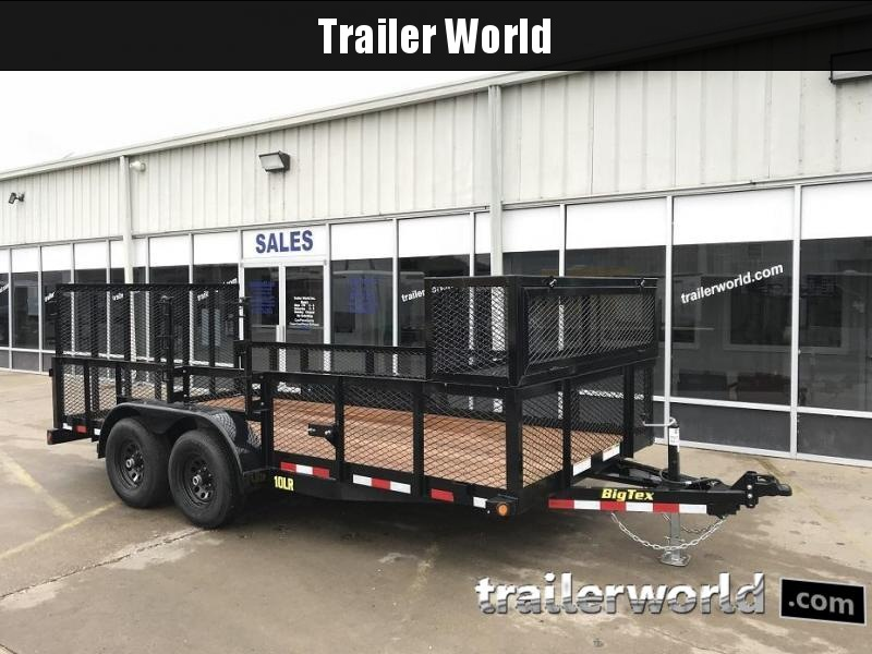 2019 Big Tex 10LR-16' Utility Landscape Trailer 10k GVWR