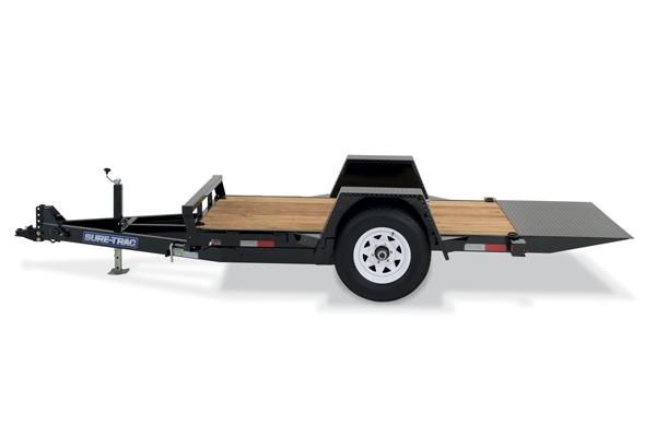2019 Sure-Trac 12' Tilt Bed Equipment Trailer 7k GVWR