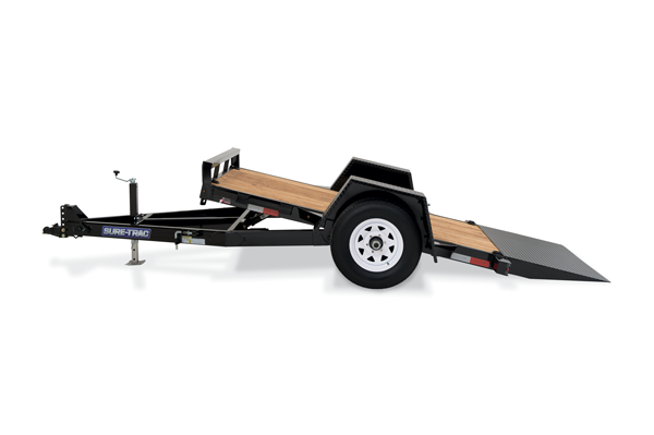 2020 Sure-Trac 12' Tilt Bed Equipment Trailer 7k GVWR