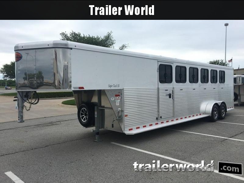 2019 Sundowner Super Tack 6 Horse Trailer