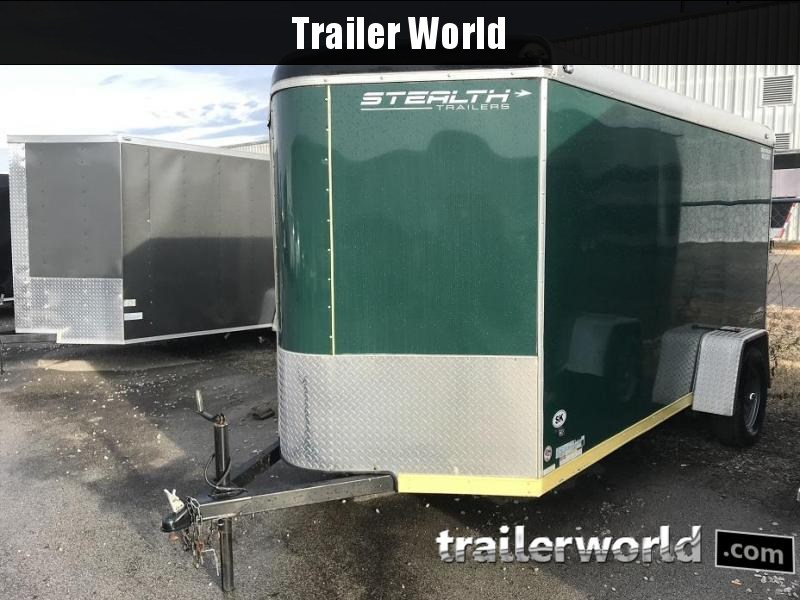 2016 Stealth 6' x 12' Vnose Enclosed Cargo Trailer