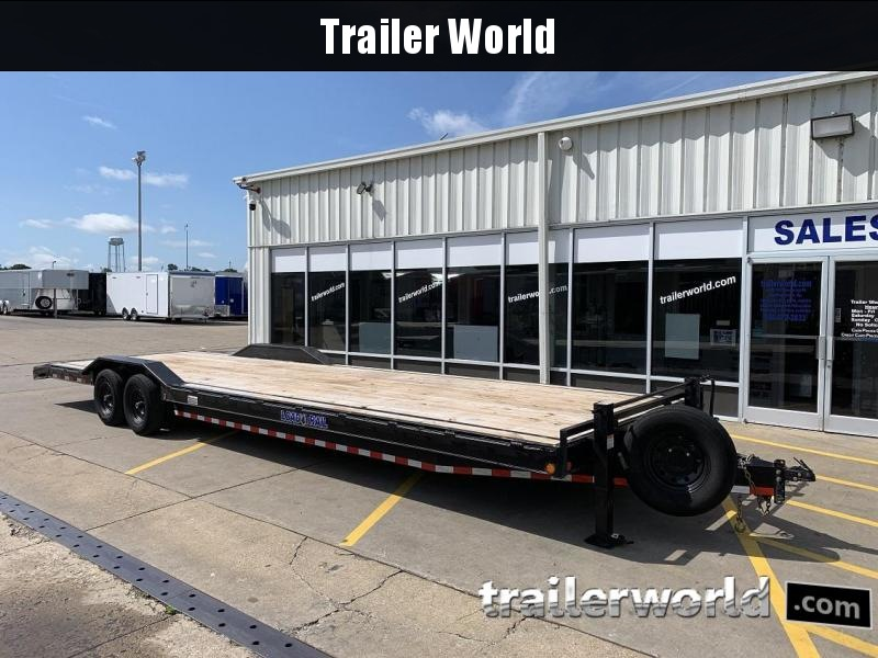"2018 Load Trail 32' x 102"" Flatbed Open 2 Car Hauler Trailer"