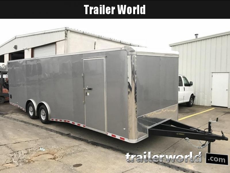 2019 CW 28'  Enclosed Car Trailer 7' Tall 14k GVWR
