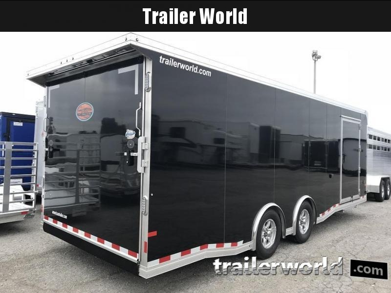 2020 Sundowner 24' x 7.5' Tall Spread Axle Car Aluminum Race Trailer
