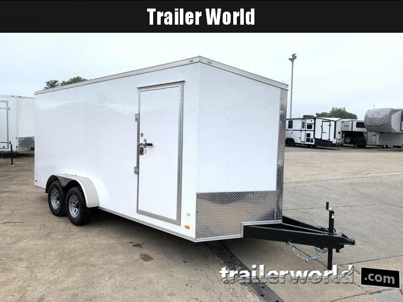 2019 CW 7' x 18' x 7' Vnose Enclosed Cargo Trailer 10k GVWR