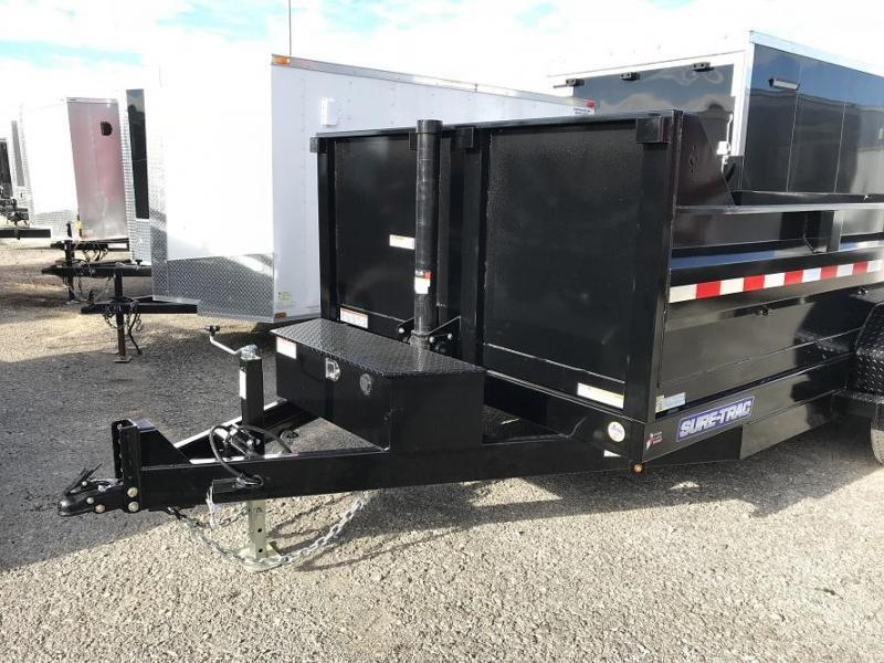 2019 Sure-Trac  14'  Telescopic Dump Trailer 14k GVWR