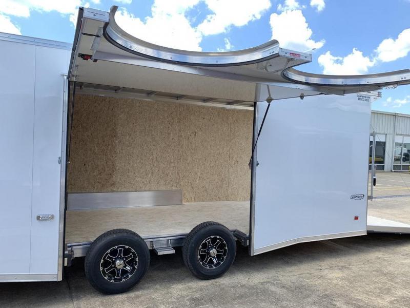 2020 Bravo Star 28' Aluminum Enclosed Car Trailer w Full Access Door