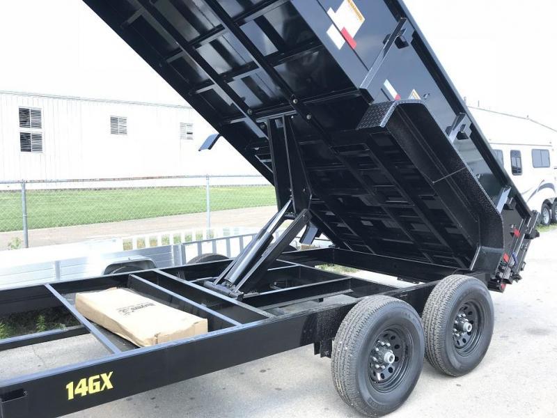 2019 Big Tex Trailers 14GX-14' Gooseneck Dump Trailer