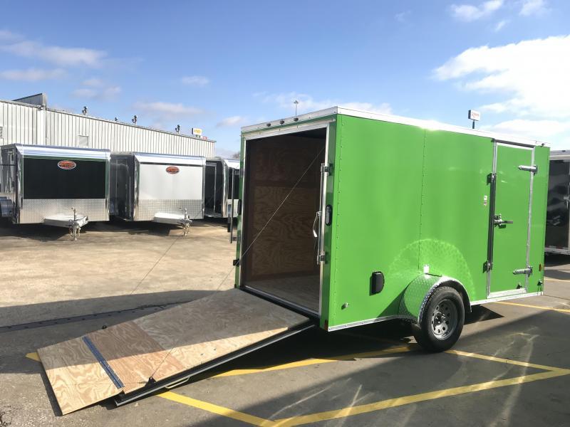 2019 Continental Cargo 6' x 12' Enclosed Cargo Trailer