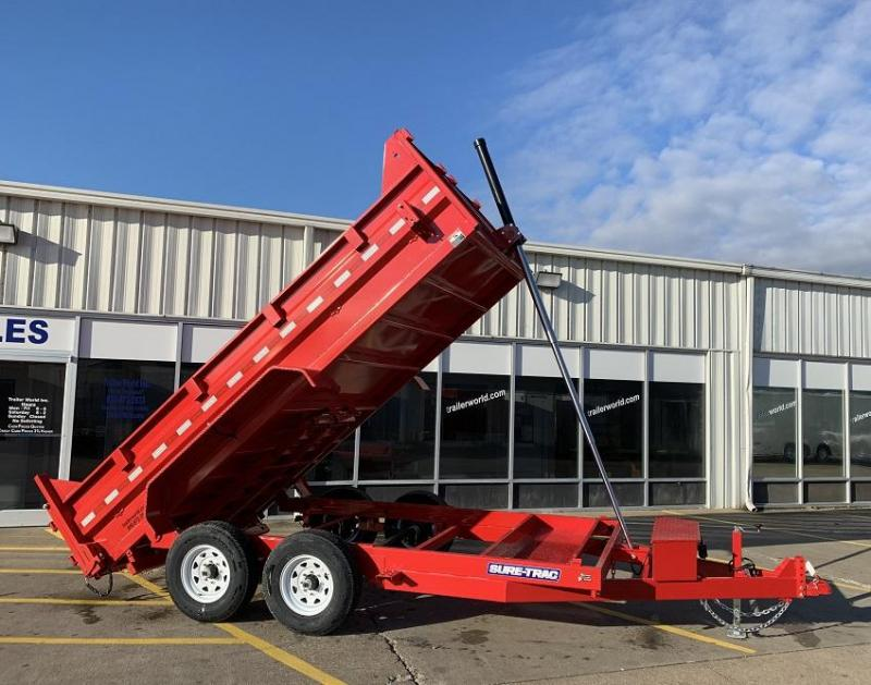 2019 Sure-Trac 14' Dump Trailer 14K GVWR Telescopic Hoist in Ashburn, VA