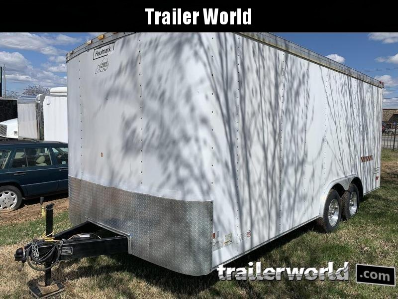 2007 Haulmark 18' Enclosed Cargo Trailer Insulated w/ AC