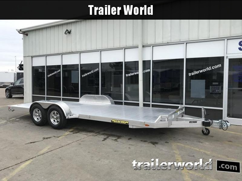 2019 Aluma 8220H Aluminum Open Flatbed Trailer in Ashburn, VA