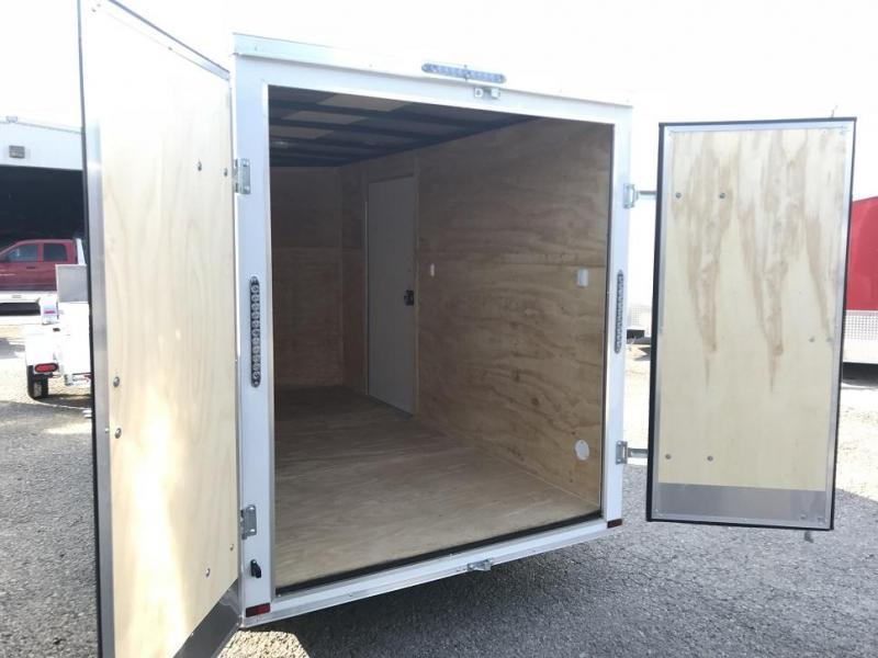 2019 Lark 6' x 12' x 6.5' Vnose Enclosed Cargo Trailer Double Doors