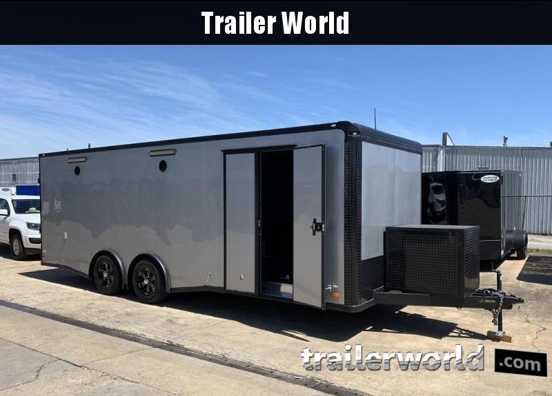2019 CW 24' Spread Axle Race Trailer