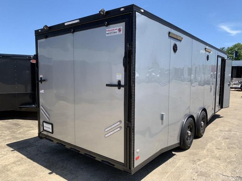 2019 CW 24' Spread Axle Race Trailer