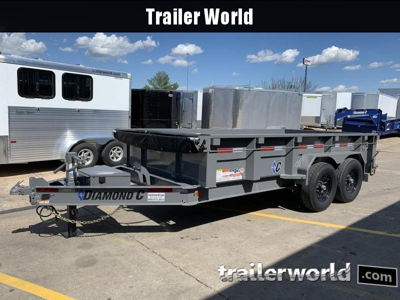 2019 Diamond C LPD 14' Dump Trailer  in Ashburn, VA