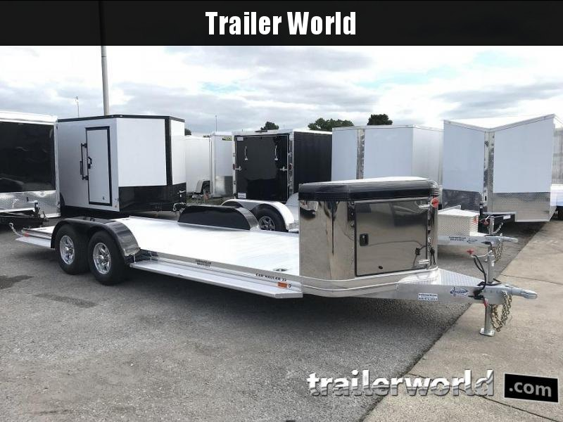 2019 Sundowner ULTRA Aluminum Open Car Hauler Trailer 22' Tapered Front