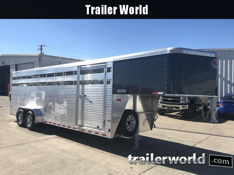 2019 Sundowner Rancher 24' Livestock Trailer 7' Tall